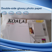 280g Inkjet a3 double sided high glossy photo paper,