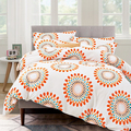 100% polyester fabrics printed comfortable soft bedding set