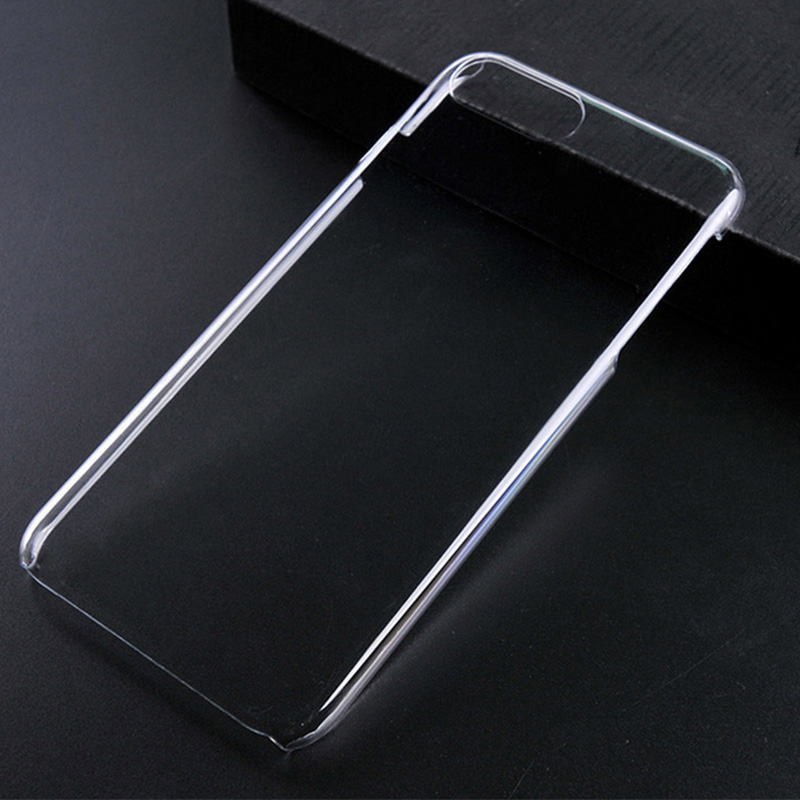 Transparent High Clear Crystal PC Hard Back Cover Case For iPhone 7 Plus