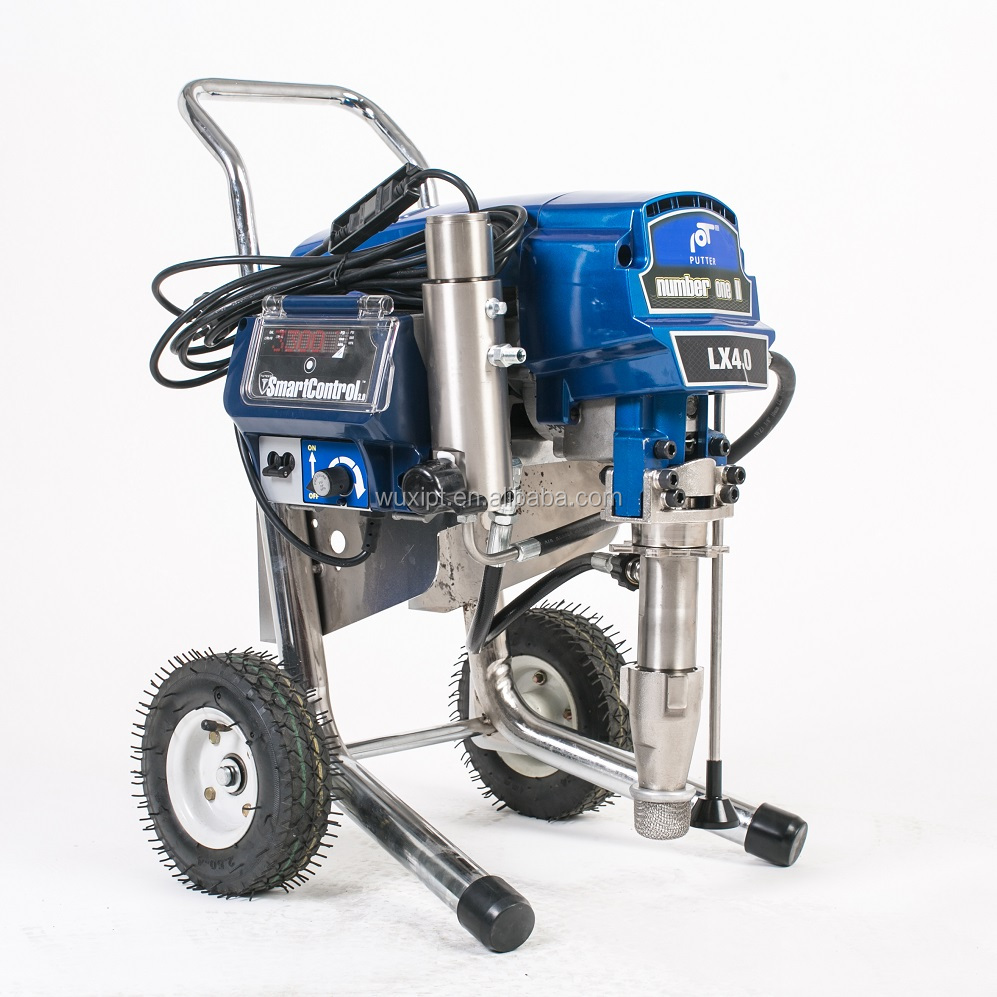 best airless paint sprayer for exterior with high quality spray Primers, water-based paints,Acrylics