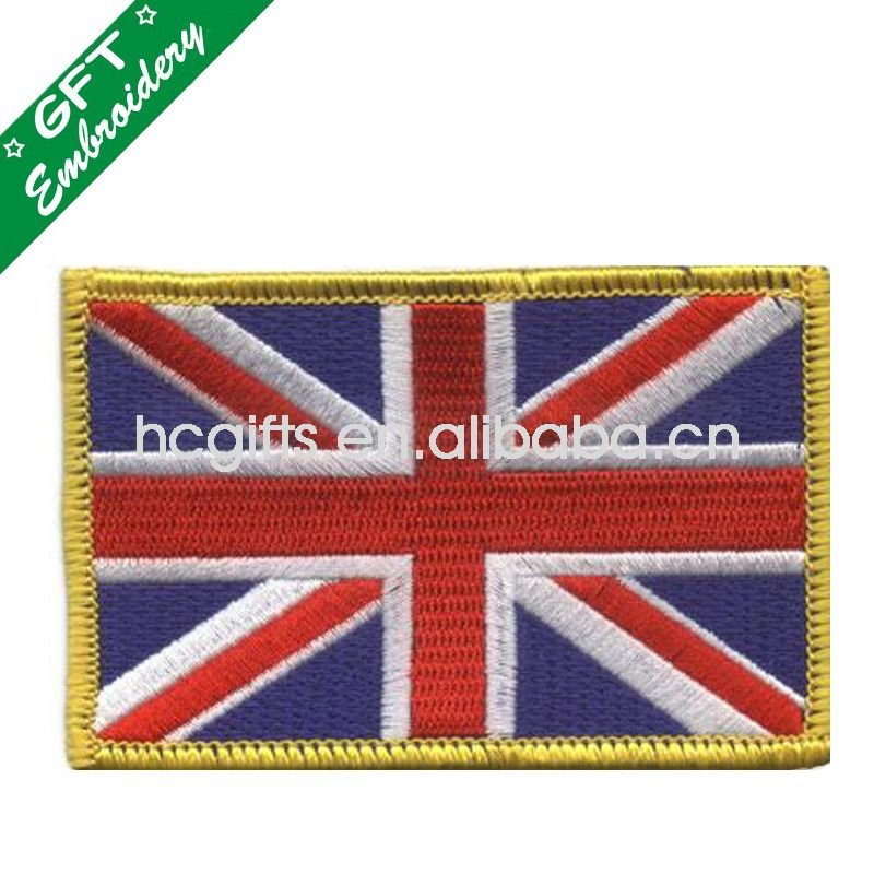Woven embroidery badge GFT-E