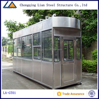 Factroy price china exhibition booth design, military container sentry box