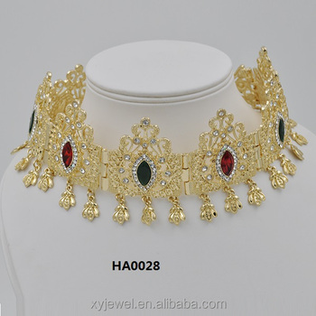 Wholesale new gold headwear women fiara
