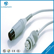 High Quality Pressure Transducer Cable IBP Adapter Cable, 6 pins
