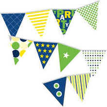 pennant string flag triangle flag for decoration ideas