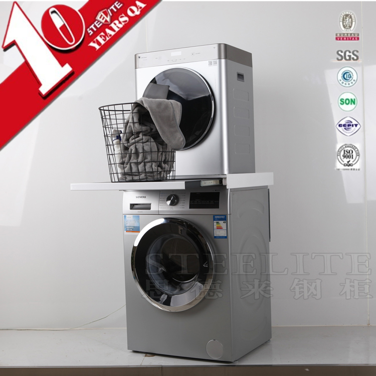 Saving Space Sri Lanka Bathroom Furniture Stainless Steel Vanity Washing Machine Cabinets