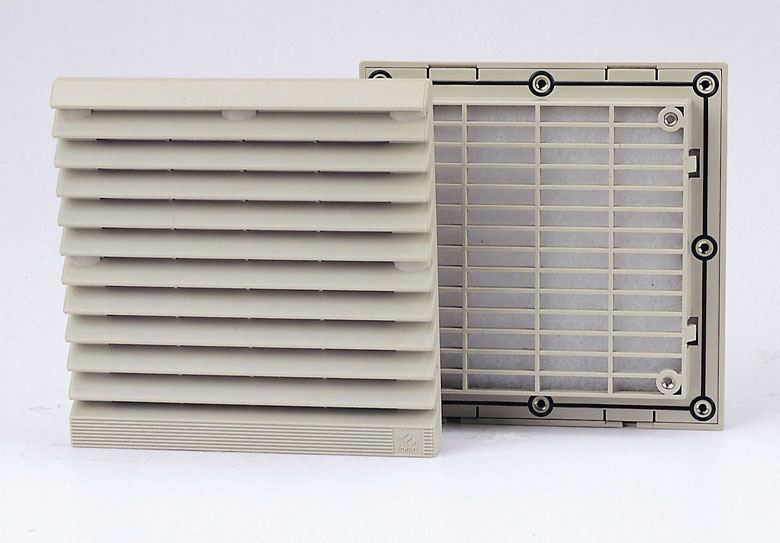 Factory Price 116.5mm Fan Filter Electrical Cabinet Filter Carbon Filter Fan
