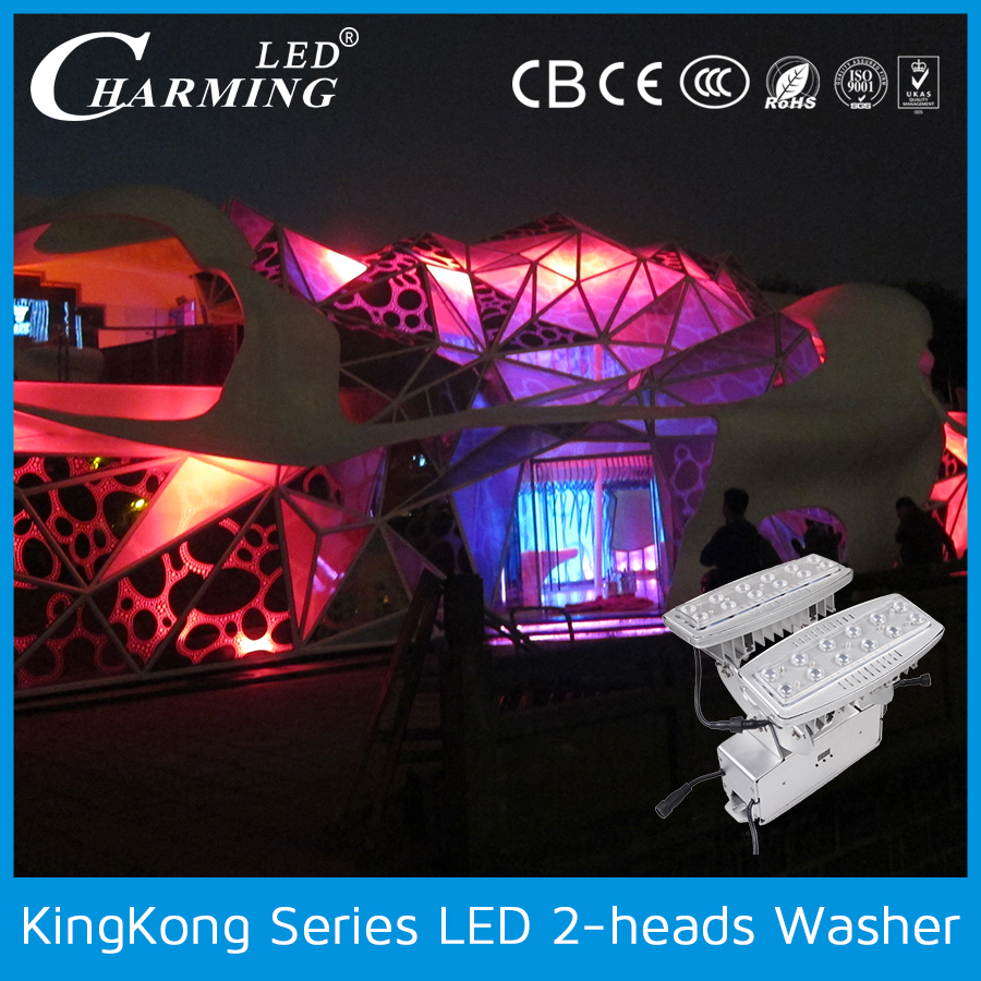 High brightness outdoor led wall washer light die casting aluminum housing