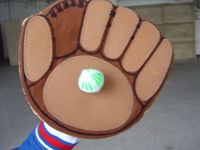 inflatable baseball glove,inflatable item,inflatable toy,inflatable product