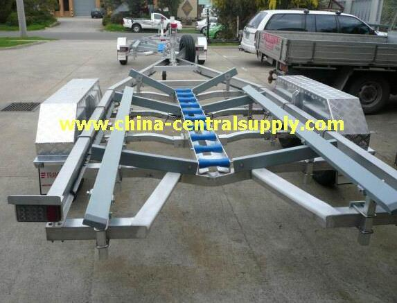 Heavy duty 7.3m Aluminum Boat trailer of manufacturing ACT0107
