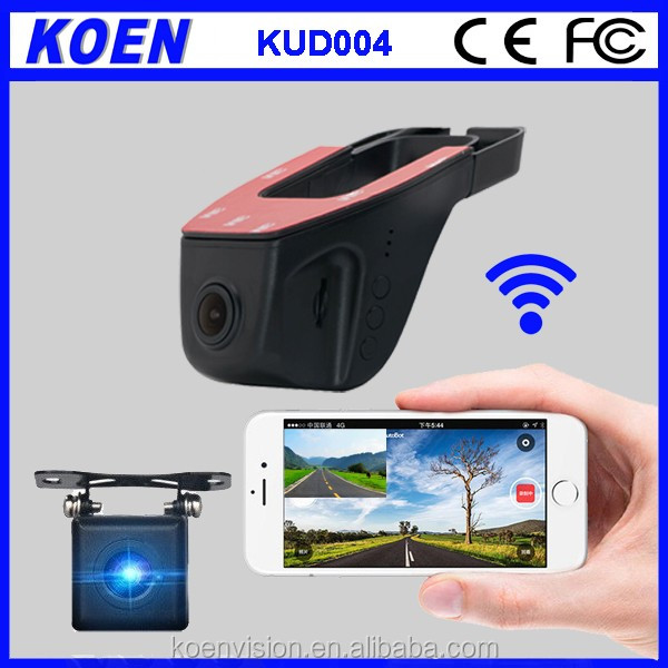 Wholesale Wifi Dash Cam Sony NT96658 WDR 1080P Two Camera Car DVR