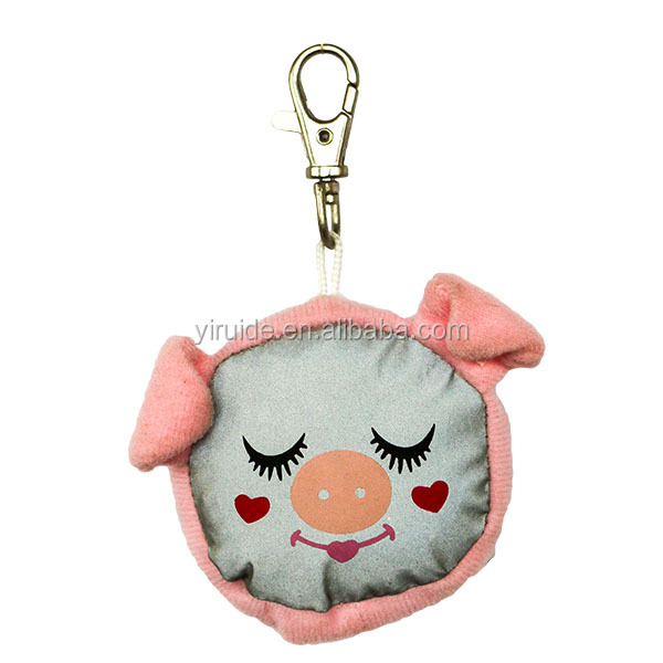 High Quality Animal Shape Reflective Hanger/Reflective Key Chain