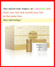 MOKERU black hair color shampoo