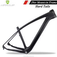 Chinese mtb carbon frame 29e with Seat Post 31.6mm sale hard tails mountain bike BSA & BB30 Di2 and machine compatible mtb frame