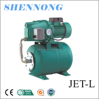 JET series low pressure agricultural irrigation electric self priming pump with tank