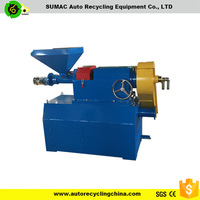 Waste tire rubber recycling fine grinding mill