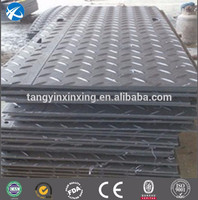 black virgin high density polyethylene sheet/hdpe virgin anti slip pad/uhmw ground mat outdoor