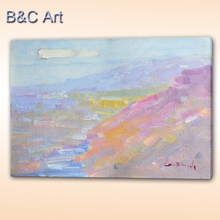 Factory Direct Sale Colorful Impressionism Oil Painting on Canvas