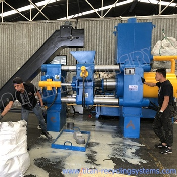 metal swarf, turnings / aluminum chips / brass chips / iron chips briquetting press machine