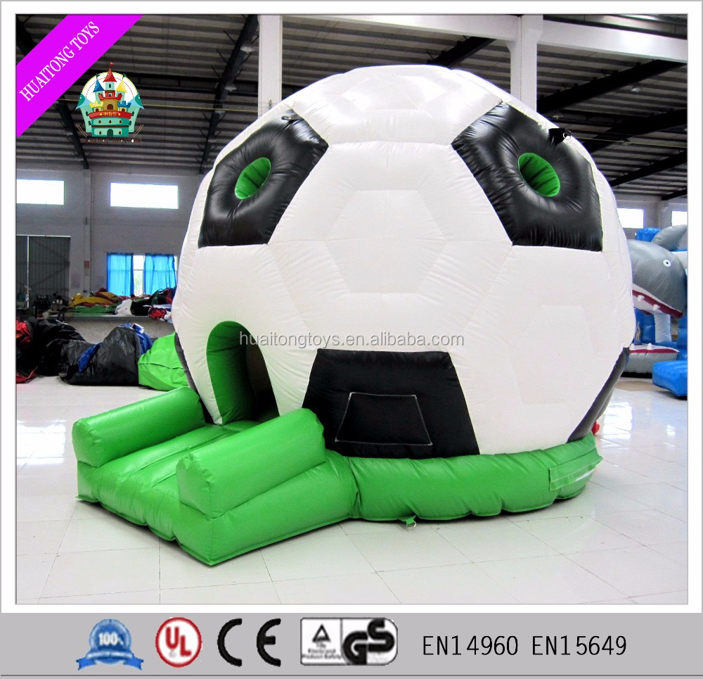 2016 Hot Sale Inflatable Soccer Bouncer,Football Playground Jumping Bouncy