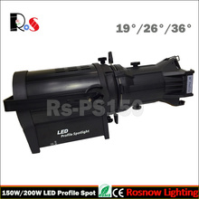 150w dmx stage profile spot lighting COB led church lighting fixtures