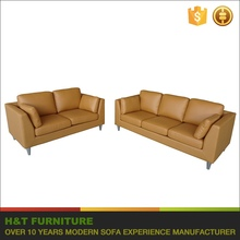 modern furniture wood frame sofa prices living room yellow leather sofa
