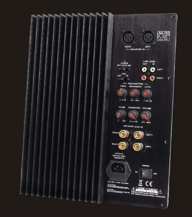 350W professional power speakers professional amplifier module