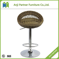 Over 30 years'production experience bar furniture weave bar stool(Mawar)