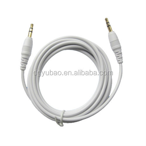 Hot selling 3.5mm jack audio stereo cable for musical instruments