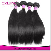 Double Strong Weft Natural Straight 100% Virgin Malaysian Hair Extension