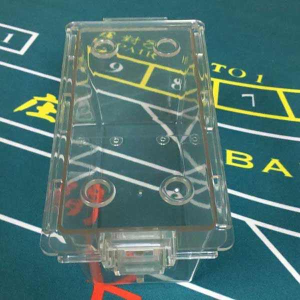 Luxury baccarat 8 deck card box
