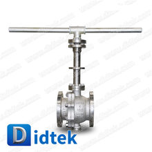Casting Steel Trunnion Ball Valve With DBB Function Manufactured by Didtek