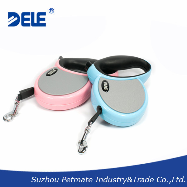 High Quality Pet Products Dog Lead Pet Auto Leashes Retractable Leash 3M 2 Color Blue Pink