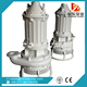 Submersible hydraulic dredge pump