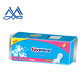 made in PRC facotory for ladies products in soft cotton quality good absorbency lady sanitary napkins with good price