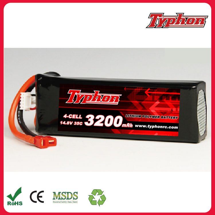 35c 70c 14.8V 3200mah 4s Lipo Battery batteries and charger XT60 plug For RC Quadcopter drone part wholesale