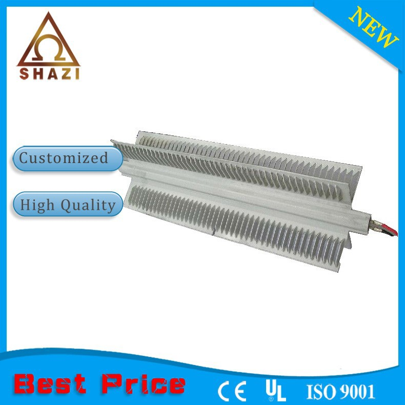 X-shape convector panel heating element