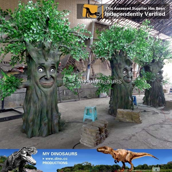 MY Dino-Shopping Mall Fairy Tale Story Talking Tree Christmas Tree