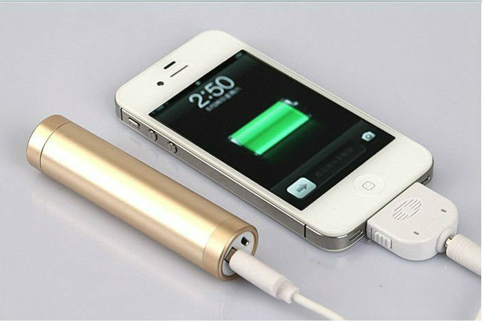 new unique product ideas small size battery lipstick power bank 2600mah