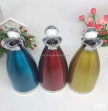 Stainless Steel 1.5 Litre thermal vaccum flask with different colors coffee pot