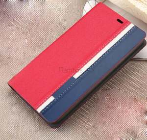 Mix color leather case with card slot Customize case for oppo Archos 55