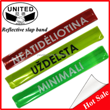 Safety Imprinted Reflective PVC Snap Bands