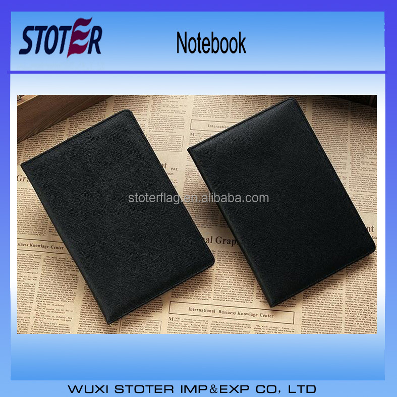 Customize A4 / B5 / A5 / A6 Pu leather Notebook with elastic band / ribbon / pen pocket