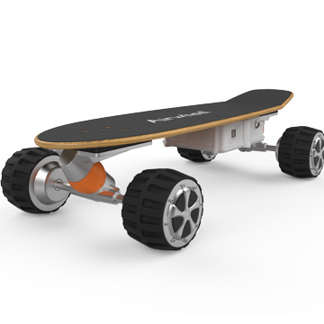 4 wheels electric skateboard for riders with 350W rear driven motor Airhweel M3