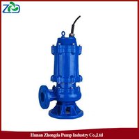 ZHONGDA WQ Series Low Pressure Low Energy Single-Stage Submersible Centrifugal Sewage Waste Water Pump