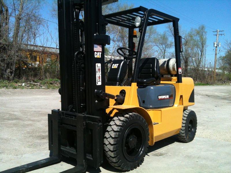 10 Ton Fork Lift Cat : Mitsubishi chat fg k chariot élévateur