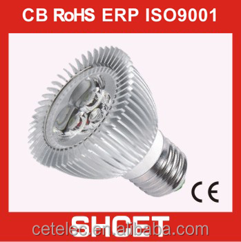 cet-047 3w gu10 led spotlight led spot lighting led high power lamp