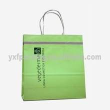 Italy style paper shopping bags with handle