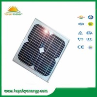 20w 17.5V 1.15A OEM/ODM mono grade A wholesale prices of solar panel made in China