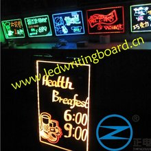 new EL fluorescent advertising panel